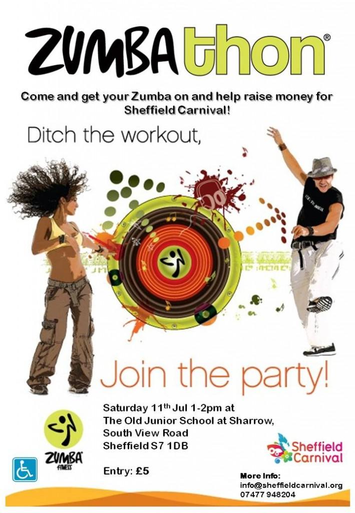 Carnival Zumbathon flyer